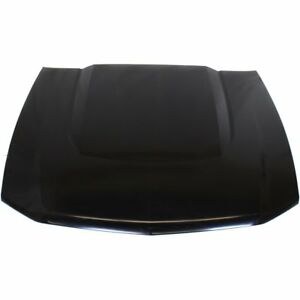 Hood For 2010 2012 Ford Mustang Aluminum Primed With Scoop Provision Capa