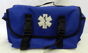 Emt Ems Trauma Bag Blue Paramedic Rescue Emergency Medical Response New