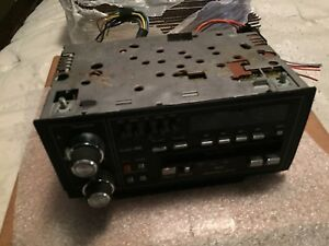 85 88 Cadillac Deville Fleetwood Oem Delco Stereo Cassette Eq 16060946 As Is
