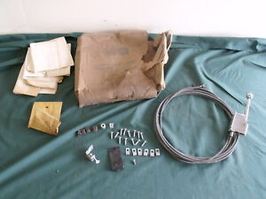 Nos Ford 1967 1968 Remote Trunk Release Mustang Cougar Comet Fairlane Galaxie