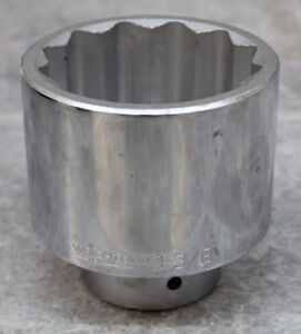 Wright 1 Drive 3 3 8 Impact Socket 8198 Made In Usa