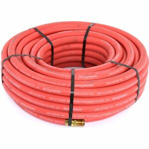 Goodyear Air Hose 12732 Red Rubber Air Hose 100 X 3 8 Weather Oil And Solvent Re
