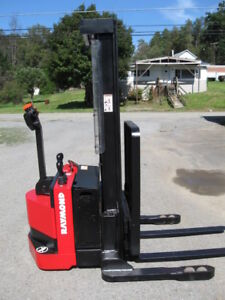 2006 Raymond Rss40 Walk Behind Forklift Straddle Walkie Stacker 128 Lift S s