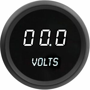 Jegs Performance Products 41412 Voltmeter Led Digital 7 0 25 5 Volts 0 1 Volt In