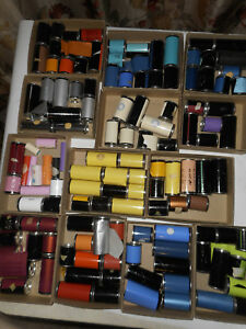 Vintage Lot Of Kingsley M 60 Hot Foil Rolls Canisters Several Colors Included