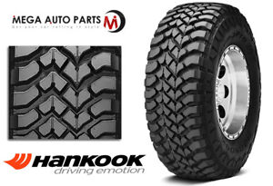 1 New Hankook Rt03 Dynapro Mt Lt265x70r17 118q 6ply C M T Owl Mud Snow Tires