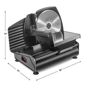 Commercial Electric Meat Slicer 7 5 Stainless Steel Blade 150w Deli Food Cutter