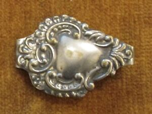 Vintage Sterling Clip Money Jewelry
