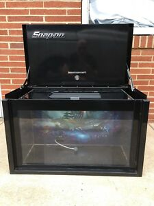 Snap On Metal Collectors Fish Tank Tool Box