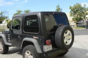 Jeep Tj Hard Top Square Back 2 Door 2 Piece Dv8 Offroad Ht86sb22