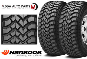 2 New Hankook Rt03 Dynapro Mt Lt275x65r18 120q 6ply C M T Owl Mud Snow Tires