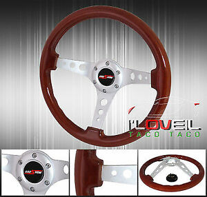 Tracking Road Race Drifting Light Weight Steering Wheel Jdm Vip Godsnow Button