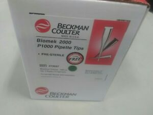Case Of 360 Beckman Coulter Biomek 2000 P1000 Pipette Tips 373687