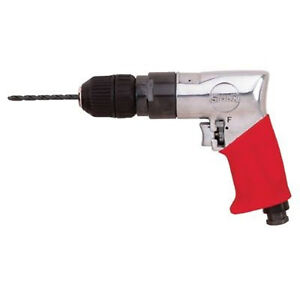 3 8 Keyless Sioux force Reversible Pistol Grip Air Drill 1 800 Rpm 47hp