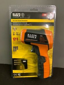 New Klein Tools Ir5 Dual laser Digital Infrared Thermometer 12 1 Distance