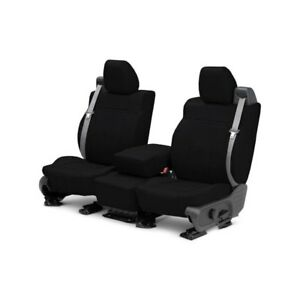 For Dodge Magnum 05 08 Caltrend Leather 1st Row Black Custom Seat Covers