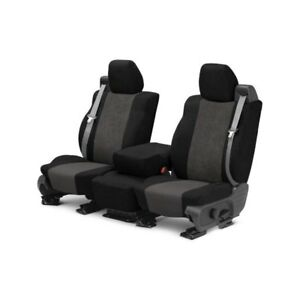 For Chrysler Pt Cruiser 01 Seat Cover Supersuede 1st Row Black Charcoal Custom