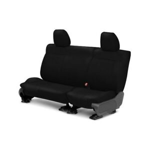 For Ford Escape 01 04 Caltrend Leather 2nd Row Black Custom Seat Covers