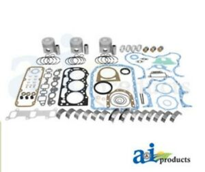 Ok194 Major Engine Kit 201cid Diesel Ford Tractors 4600 4610 4610su 4630