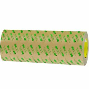 3m T96124671pk Clear 467mp Adhesive Transfer Tape Hand Rolls 12 X 60 Yd