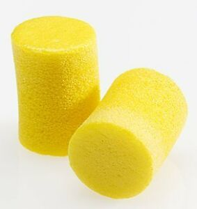 3m 312 1201 E a r Classic Uncorded Earplug Poly Bag Yellow pack Of 200