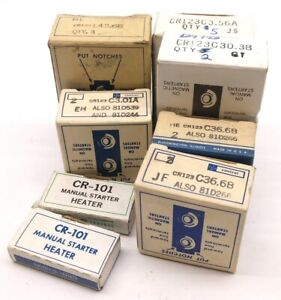 Lot Of 8 Boxes Of General Electric Miscellaneous Heater Elements See Pictures