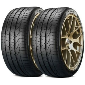 2 X New Pirelli Pzero 275 40zr19 High Performance Tires