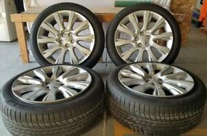 21 Used Oem Wheel Tire Package For Land Range Rover Hse Sport Supercharged
