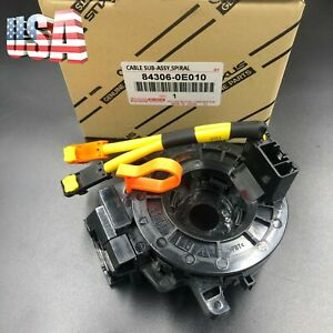 Oem Airbag Spiral Cable Clock Spring Fit For Toyota Lexus Tacoma 84306 0e010