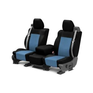 For Mg Mgb 73 80 Caltrend Carbon Fiber 1st Row Black Blue Custom Seat Covers