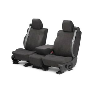 For Mg Mgb 73 80 Caltrend Microsuede 1st Row Charcoal Custom Seat Covers