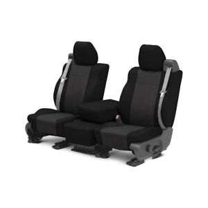 For Mg Mgb 73 80 Caltrend Sportstex 1st Row Black Charcoal Custom Seat Covers
