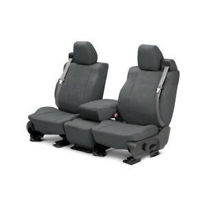 For Mg Mgb 73 80 Caltrend Duraplus 1st Row Charcoal Custom Seat Covers