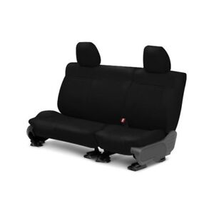 For Mazda 3 11 13 Caltrend Ma127 01ld Leather 2nd Row Black Custom Seat Covers