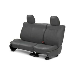 For Volkswagen Beetle 08 10 Caltrend Leather 2nd Row Charcoal Custom Seat Covers