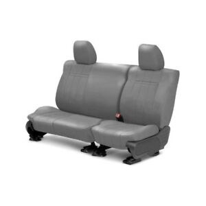 For Volkswagen Beetle 98 07 Leather 2nd Row Light Gray Custom Seat Covers