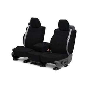 For Volkswagen Beetle 13 14 Caltrend Leather 1st Row Black Custom Seat Covers