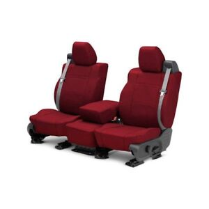 For Toyota Previa 91 93 Caltrend Neosupreme 1st Row Red Custom Seat Covers