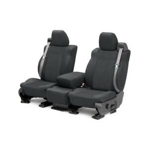For Toyota Previa 91 93 Caltrend Eurosport 1st Row Charcoal Custom Seat Covers