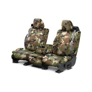 For Toyota Pickup 84 88 Caltrend Camouflage 1st Row Retro Custom Seat Covers