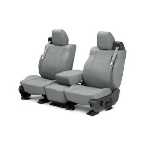 For Toyota Pickup 89 95 Caltrend Duraplus 1st Row Light Gray Custom Seat Covers
