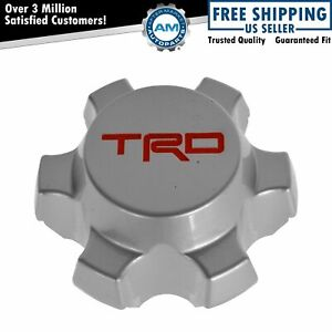 Oem Trd Alloy Wheel Center Hub Cap Silver Finish For Toyota Tacoma Fj Cruiser