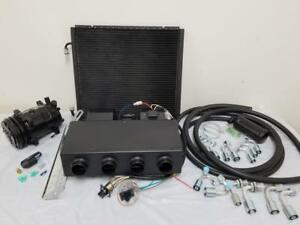 Universal Underdash Air Conditioning Heat Cool Ac Evaporator Kit A C Compressor