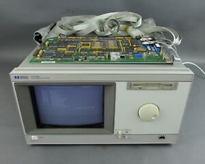 Hp Agilent 16500b Logic Analysis System With 16520a Card needs Repair