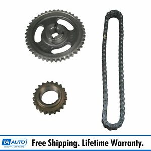 Timing Chain Set Kit Double Roller Heavy Duty For Chevy Gmc Pontiac Pickup Truck