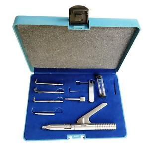 Ss White Crown Remover Set Automatic Gun Type Dental Instruments Stainless
