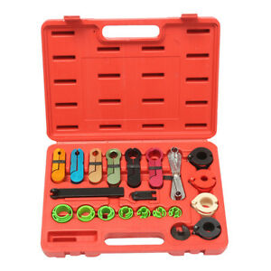 22pcs Oil Fuel Transmission Line Disconnect Tool For A c Air Conditioning