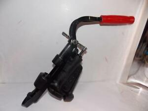 LYMAN 450 LUBRICATOR CAST BULLET LUBE SIZER WITH RATCHET WRENCH--CLEAN