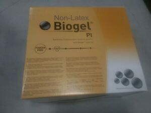 Case Of 50 Molnlycke Biogel Pi Surgical Glove Size 7 5