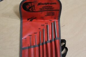 Snap on Roll Pin Punch 7 Piece Set 5 64 3 32 1 8 5 32 3 16 7 32 1 4
